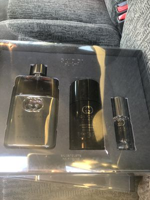 Gucci guilty for men's set firm authentic.... for Sale in Philadelphia, PA