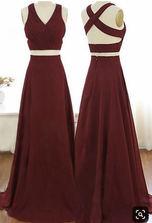 Two piece long prom dress for Sale in Riverton, UT