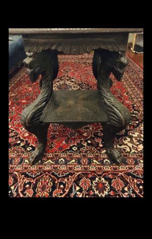RARE Antiques Wood Dragon Table for Sale in St. Petersburg, FL
