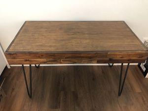 Wooden work desk for Sale in Seattle, WA