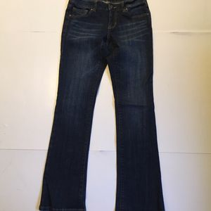 CAbi Women's Boot Cut Blue Jeans Size 2 Stretch Dark Wash Low Rise for Sale for sale  Snohomish, WA