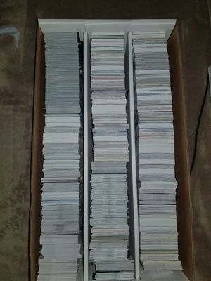 3,000 Count Box Baseball/Football Cards for Sale in Marietta, GA