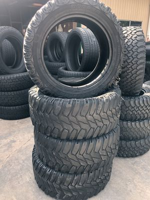 33/1250/20 tire set for Sale in Houston, TX