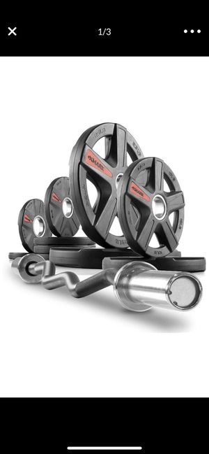 Xmark xm 3670 Olympic curl bar set $315 value for Sale in Bronxville, NY