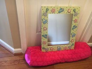 Mirror and cushion for Sale in Ashburn, VA