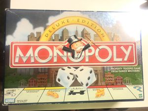 Monopoly Deluxe Edition for Sale in Las Vegas, NV