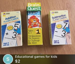 Educational games for kids for Sale in Lakewood Township, NJ
