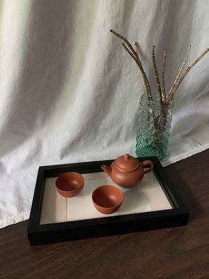 Brown tea set for Sale in West Lafayette, IN