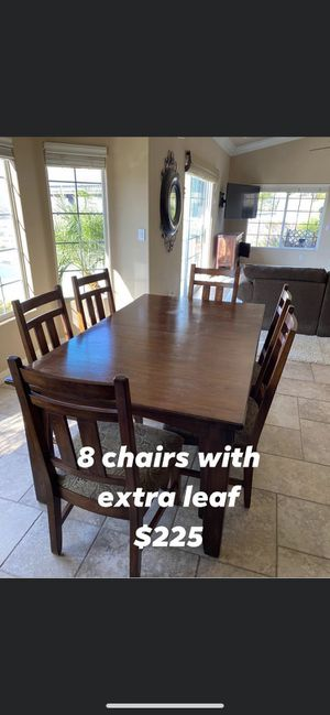 9 piece table set for Sale in Temecula, CA