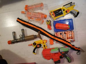 Nerf guns and accessories for Sale in Arlington, VA