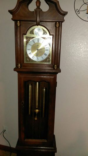 Antique wooden grandfather clock for Sale in Tucson, AZ