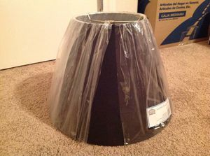 New Black Lamp Shade for Sale in North Las Vegas, NV