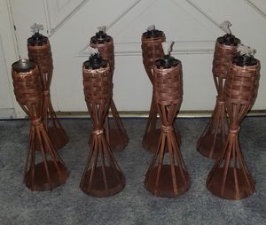 8 Table Tiki Torches in Excellent condition for Sale in Alhambra, CA
