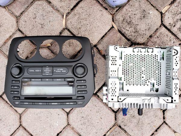 original radio/cd player 2011 Mazda MX5