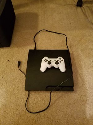 PS3 with controller and power cord for Sale in Greenwood, IN