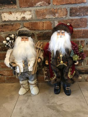 Perfect Condition 18 inch Santa Figures for Sale in Issaquah, WA