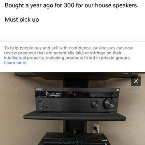 Sony Receiver And 6 Channel Speaker Switch for Sale in Buckeye, AZ