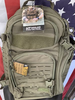 H.T. Backpacks / Lasser Cut Molle for Sale in Rancho Cordova, CA