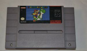 Authentic Super Mario World Super Nintendo Entertainment System SNES Tested Work for Sale in Bellingham, WA