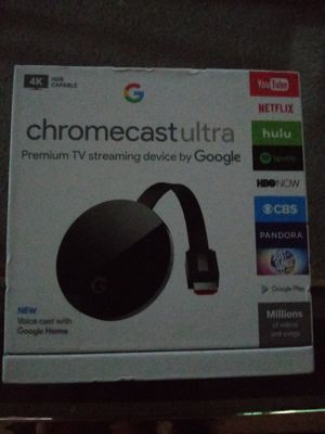 Chromecast Ultra brand new for Sale in Red Wing, MN