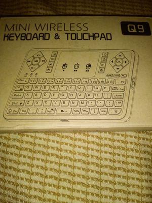 Wireless Keyboard & Touchpad for Sale in Lubbock, TX