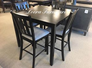 NEW 5PC Grey Counter Height Dining Set $289 🌻 for Sale in Katy, TX