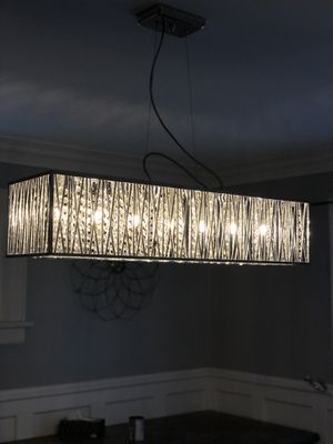 Home decorators collection crystal chandelier for Sale in Columbus, OH