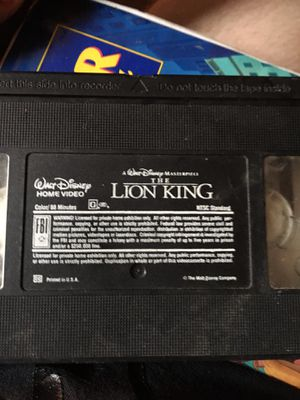 Vhs movies for Sale in Warren, RI