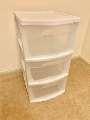 3 Drawers Storage Tower for Sale in Springfield, VA