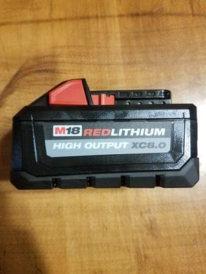 Milwaukee M18 8.0 High Output Battery Pack for Sale in Morgantown, WV