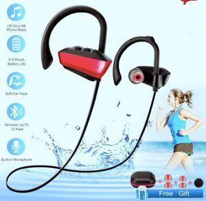 Brand New in Box Wireless Bluetooth Headphones Sport Waterproof Bluetooth Earphones with Mic for Running In-Ear Wireless Sport Earbuds 8 Hour Playtim for Sale in Hayward, CA
