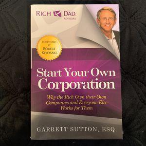 Start Your Own Corporation By Garrett Sutton ESQ for Sale in Hacienda Heights, CA