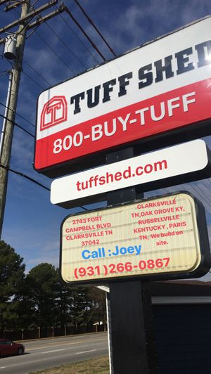 TUFFSHED for Sale in Clarksville, TN