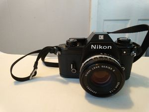 Nikon EM 35mm Film Camera with Nikon 50mm f/1.8 Lens for Sale in Chicago, IL