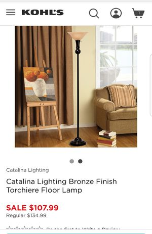 NEW IN BOX FLOOR LAMP for Sale in Columbus, OH