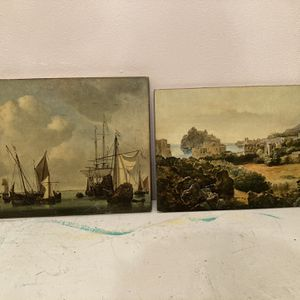 Vintage Art On Wood for Sale in White Plains, NY