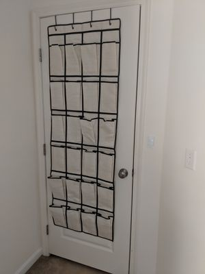 Over the door shoe organizer for Sale in Columbus, OH