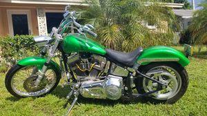 Custom Harley only 5200 mile for Sale in Fort Lauderdale, FL