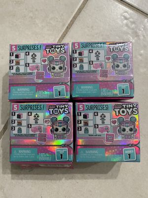 LOL Surprise Tiny Toys set (4) for Sale in Venice, FL