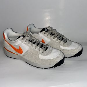 FRENike Air Lava Dome Ultra White Orange Grey Sneakers Shoes Men 10.5 for Sale in Richardson, TX
