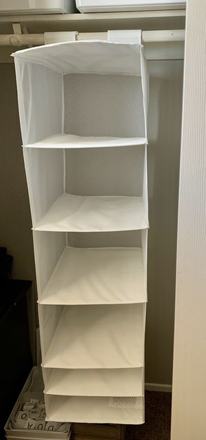 Sweater clothes shoes hanging closet organizer for Sale in Murrieta, CA