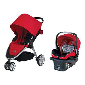 Britax B-Agile Stroller & B-Safe 35 Infant Car Seat travel system for Sale in Quincy, MA