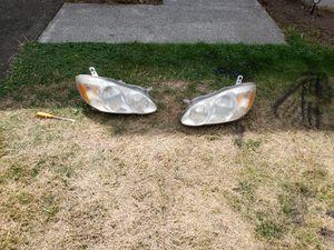 2003=2008 toyota corolla headlights for Sale in Auburn, WA