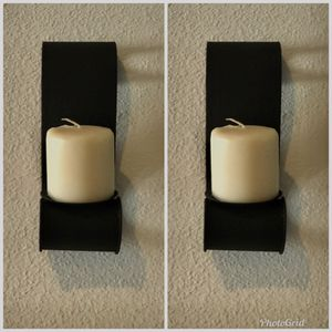 Set of sconces with new candles for Sale in Orlando, FL