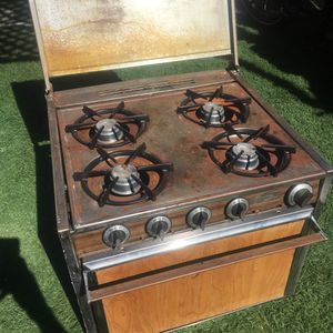 Wedge wood camper van oven stove propane for Sale in Encinitas, CA