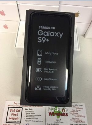 Samsung Galaxy S9+ (64gb) comes with charger and 1 month warranty for Sale in Falls Church, VA