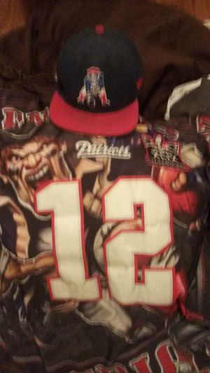 NFL Jersey And Hat Patriots for Sale in Denver, CO