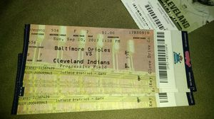 Cleveland Indians tickets for Sale in Cleveland, OH