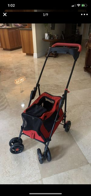 Dog carrier puppy cat stroller pet for Sale in Miami, FL
