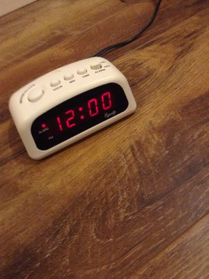 Simple Alarm Clock Barely Used for Sale in Riverside, CA